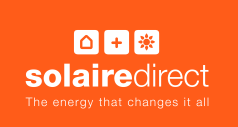Solairedirect logo   nouvelle signature AN - Blanc sur fond orange
